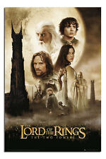 Lord Of The Rings Two Towers Large Maxi Wall Poster New - Laminated Available