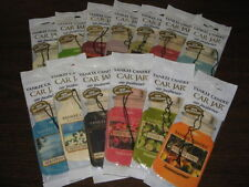 YANKEE CANDLE CAR JAR AIR FRESHENERS FROM £1.85 POST FREE INC LTD EDITIONS