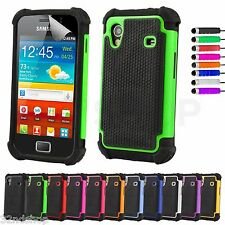 NEW SHOCK PROOF CASE COVER FITS SAMSUNG GALAXY ACE S5830 FREE SCREEN PROTECTOR