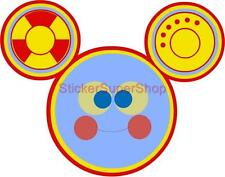 TOODLES Mickey Mouse Clubhouse Disney Decal Removable WALL STICKER Decor Art