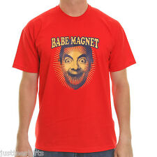 MR BEAN cotton t shirt ~ Babe magnet   (red)