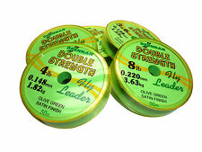 Drennan DOUBLE STRENGTH  Fly Fishing Leader on 50m Spools : Trout & Fly Fishing
