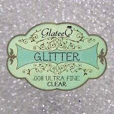 GlateeQ 20g Sand Ultra Fine Glitter .008 - Craft, Nail Art or Floristry