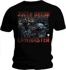 Official T Shirt JUDGE DREDD Comic LAWMASTER Superhero All Sizes