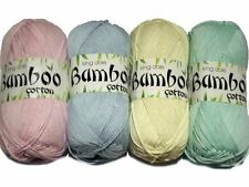 KING COLE BAMBOO COTTON DK VARIOUS SHADES - 100g