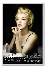Marilyn Monroe Lipstick Large Magnetic Notice Board Includes Pack Of Magnets