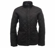 LADIES REGATTA QUILTED JACKET BLACK SIZES 10-20 RRP £44.99 Msy