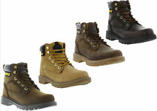 Caterpillar Stickshift Genuine Leather Mens Casual Work Boots Sizes UK 6 - 12