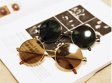 Classical  Vintage Style John Lennon Hippies  Round UV400 Metal Sunglasses lcj5