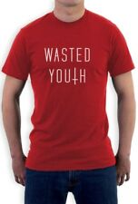wasted youth Cross T-Shirt Hipster Geek Top Swag Indie Shop Dope
