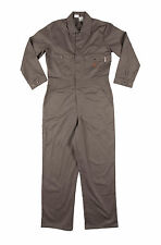 Rasco FR Gray Coveralls 7.5 oz 100% Cotton