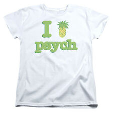Womens T-Shirts Sizes S-2XL New Authentic I Like Psych Womens Tee Shirt