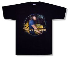 """TRACE ADKINS """"PHOTO STAIRS TOUR 2011 PORTSMOUTH - BOSSIER CITY"""" BLK T-SHIRT NEW"""