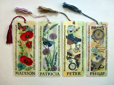 History & Heraldry 3D Personalised Bookmarks - Names: M - P