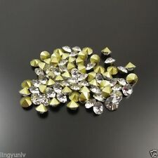 Multi Size Wholesale Shadow Crystal Rhinestone Point Back Seed Stones