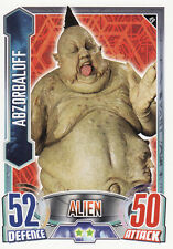 Doctor Who Alien Attax Trading Cards Pick From List 49 to 108