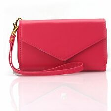 Womens Multifunctional Card Bag Colorful Purse Phone Case Envelope Clutch Wallet