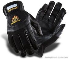 SetWear Pro Leather Black Glove - stage, studio, lighting, rigging, Dirty Rigger