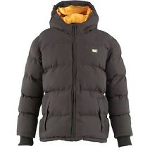 CATERPILLAR BOYS JACKET KIDS INFANT PUFFA COAT 2YEARS 3 YEARS BLACK HOODED NEW
