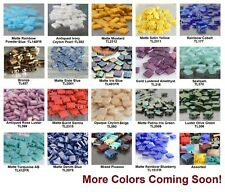 5mm Square 2-Hole TILA Glass Beads 50 Miyuki Choose Color NEW ARRIVALS!