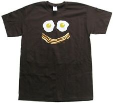 Bacon and Egg Smiley Face T-Shirt