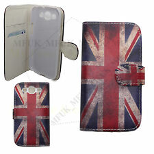 Classic Union Jack Book Flip Wallet Credit Card Case Cover British Flag UK GB