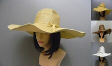 Straw Papper Hat Shiny Glitter Sun Beach Summer Large Wide Brim Floppy Derby