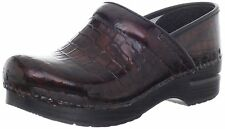 Dansko Shoes Professional Clogs Brown Croc All Sizes