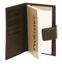 FINELINE LEATHER Address Book includes Custom Personalized Imprinting 128