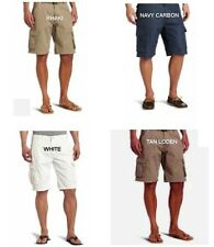 $38 Caribbean Joe Men's Cargo Shorts 5 colors 100% Cotton all sizes New