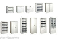 Office Furniture Cupboards and Storage - Choice of  6 colours and sizes