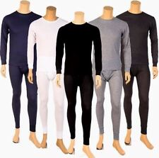 Mens 2pc THERMAL Underwear SET Long John Waffle Knit Top & Bottom S M L XL 2X 3X