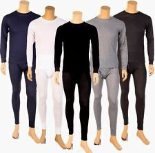 Mens 2PC Thermal Underwear Set Top Bottom Long John New Waffle Top Sets S~XXXL