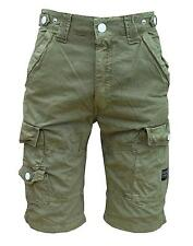 Soul Star Dyed 213 Men's Combat Cargo Pockets Casual Fashion Shorts khaki 1871