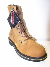 NEW WOLVERINE FOSTER STYLE W10100 DURASHOCK 8 INCH steel toe leather WORK BOOT