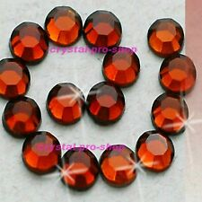 Smoked Topaz Hotfix Rhinestones Iron On Flatback Crystal Bling Diam​ante DIY Gem