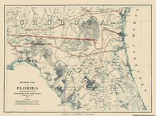 NORTHERN PART OF FLORIDA BY A.D. BACHE 1864