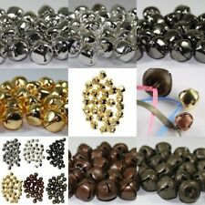 ♫ 10 Jingle Bells ♫ Small to Large ♫ 6, 10, 13, 20 & 25mm ♫ 6 Metallic Finishes