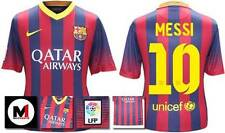 *13 / 14 - NIKE ; BARCELONA HOME SHIRT SS / MESSI 10 = KIDS & JUNIOR SIZE*