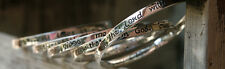 Bangles from Heaven Silver Plated Bangle Variations