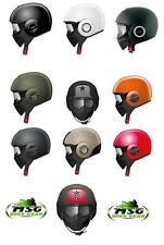 SHARK RAW URBAN MOTORCYCLE MOTORBIKE SCOOTER HELMET + FACIAL PROTECTION MASK