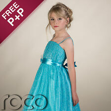 Girls Hoop Dress, Turquoise Prom Dresses, Bridesmaid Dresses, Girls Dresses UK