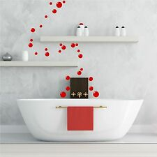 27 Bathroom Bubbles Wall Art Stickers Tile En Suite Vinyl Decals Mural Graphics