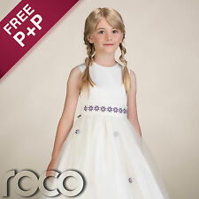Girls Ivory Bridesmaid Dresses, Flower Girl Dresses, Prom Dresses, Girls Dresses