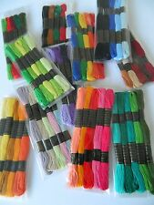 CHOOSE YOUR PACK ~ Stranded Cotton ~ Embroidery Sewing Threads ~ Crafts