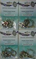 Assorted Bead Findings Flower Clasp Wire Crimp Swarovski Crystal Rhinestone Kit