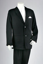 Formal Boy High Collar Black or White Shirt and Pleated White Boys Shirts 1 - 16