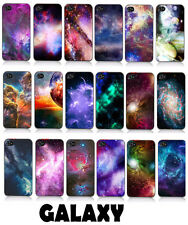 Galaxy Space Case Cover Protector for iPhone 4/4S Mustache Hard Snap kj612