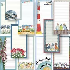 *SHOPPING LIST* MAGNETIC NOTEPAD Home Message Pad Kitchen Magnet Memo Stationery