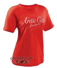 Arctic Cat 2014 Women's Arctic Cat Bamboo T-Shirt Tee - Poppy Red - 5249-43_